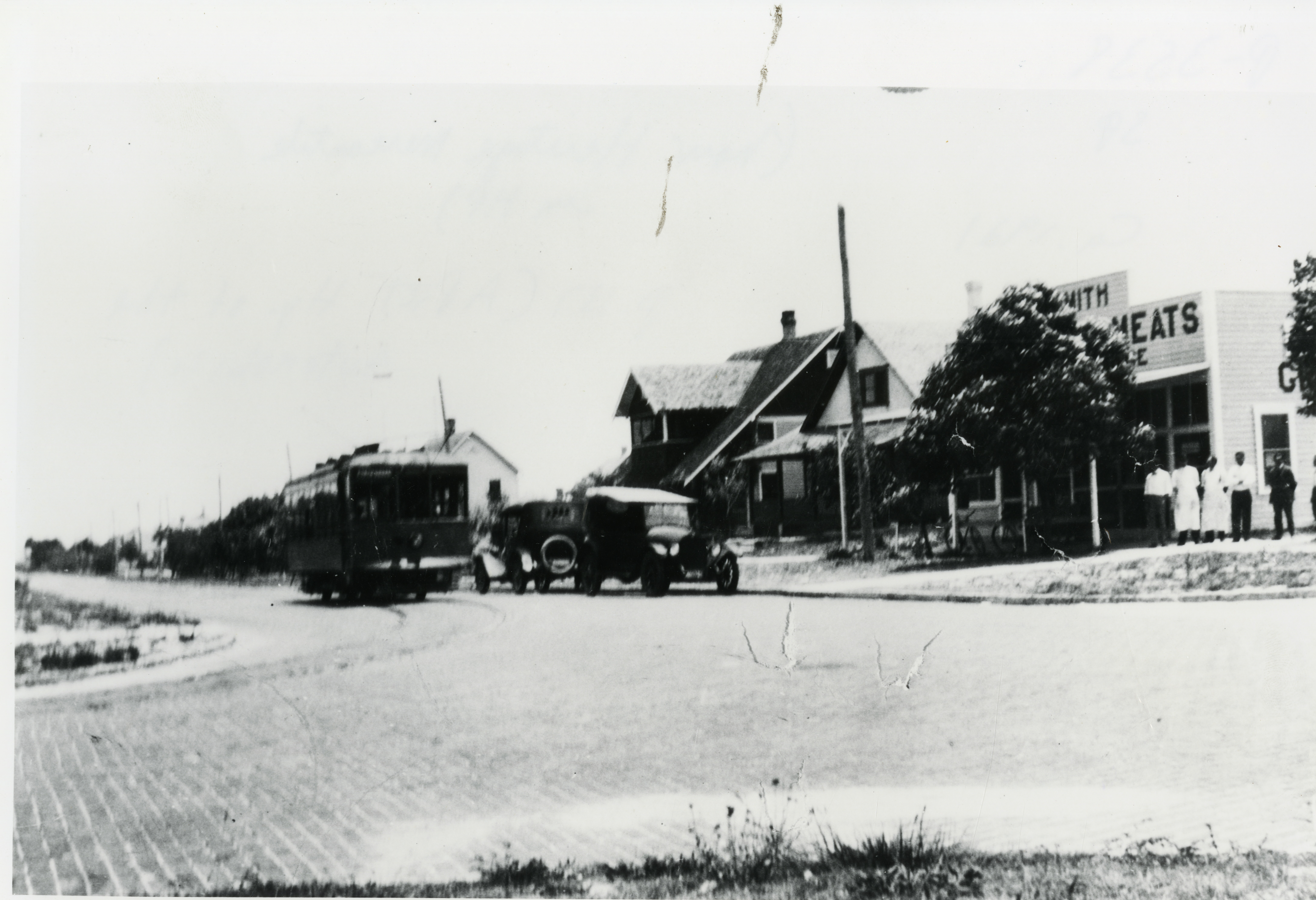 View of 6th Avenue South and H.C. Smith Store, St. Petersburg, Florida, 1921.