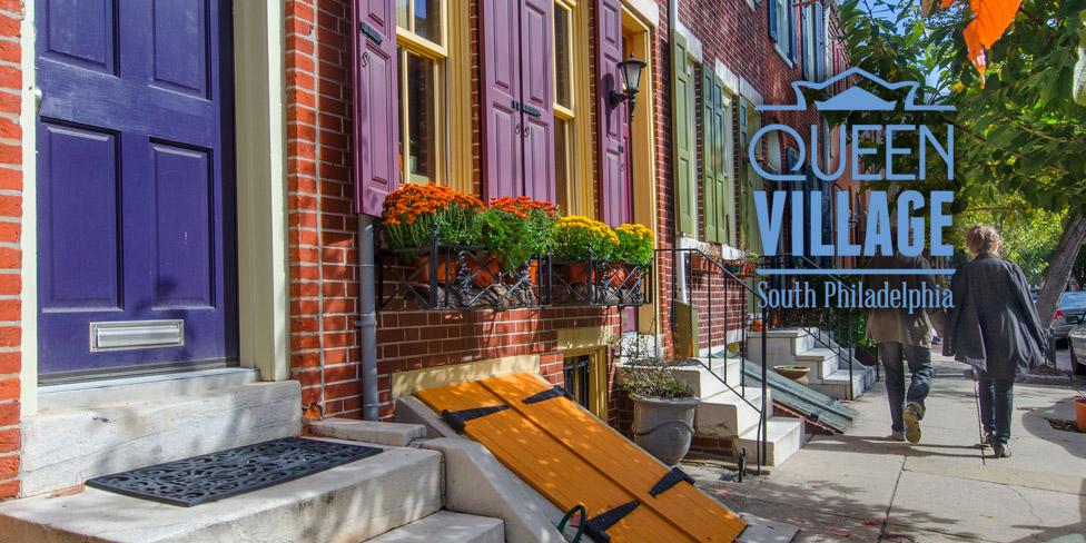 Queen Village, Philadelphia (image from Visit Philadelphia)