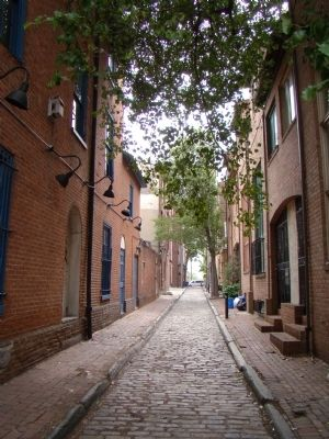 Naudain Street at 2nd Street, Queen Village (image from Historic Marker Database)