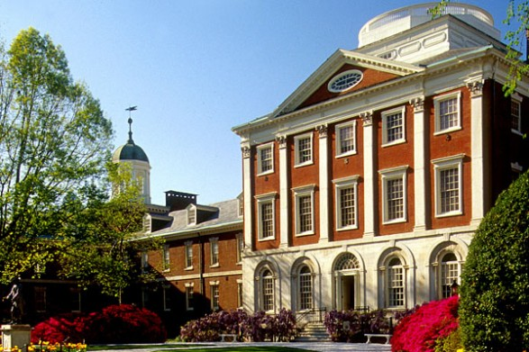 Pennsylvania Hospital, the Pine Building, dating to 1755 (image from Visit Philly)
