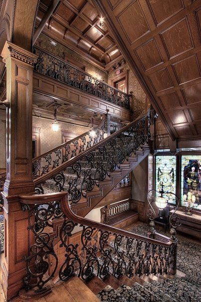 The Whitney Mansion Grand Staircase