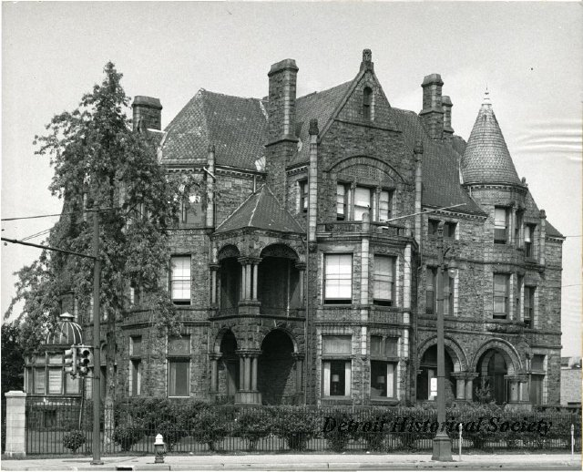 The Whitney Mansion Exterior