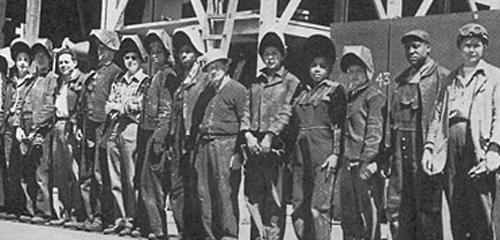 Kaiser's Richmond shipyards were crewed by a startling cross-section of Americans for the era. Women and minorities comprised a significant percentage of the workforce. Unfortunately, they still often faced unequal pay and discrimination.