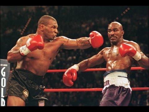 Tyson swings.