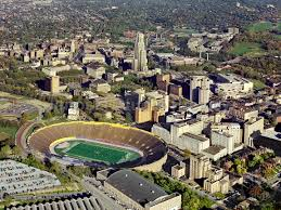 The Pittsburgh Panthers played their home games at this stadium from 1925 to 1999.
