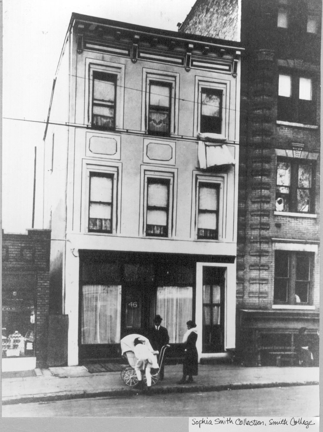 Clinic exterior at 46 Amboy Street