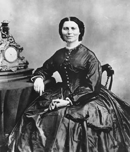 Clara Barton was a co-founder of the organization