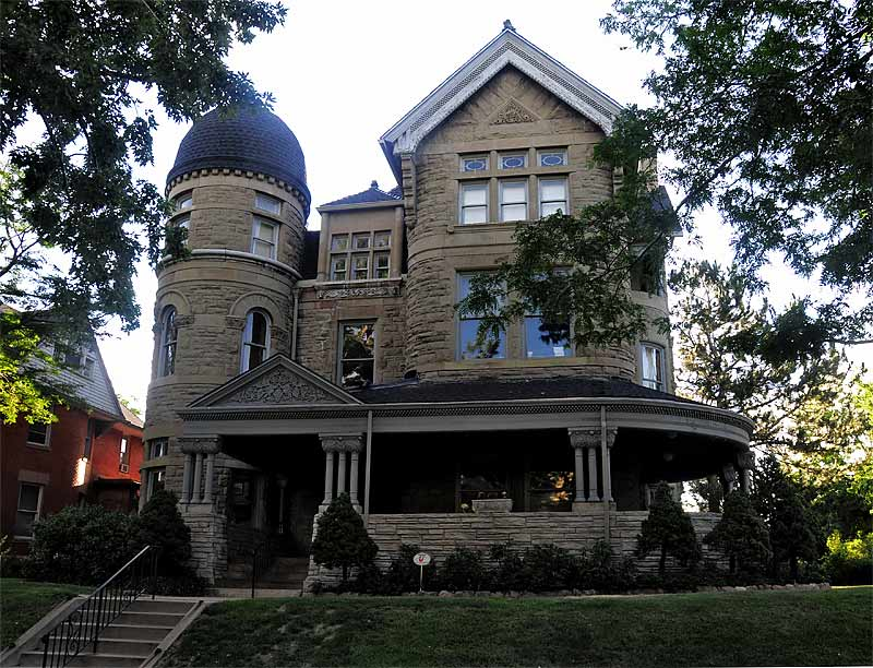 The Bailey House was completed in 1891 by architect William Lang for owner George B. Bailey.