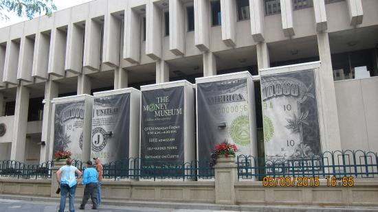 The Money Museum is located inside the Denver branch of the Federal Reserve Bank.