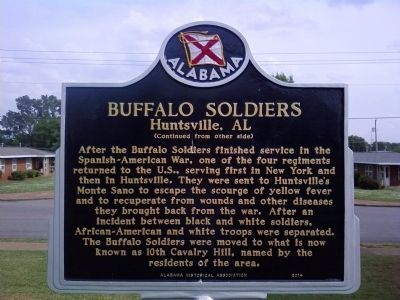 Back of the historical marker.