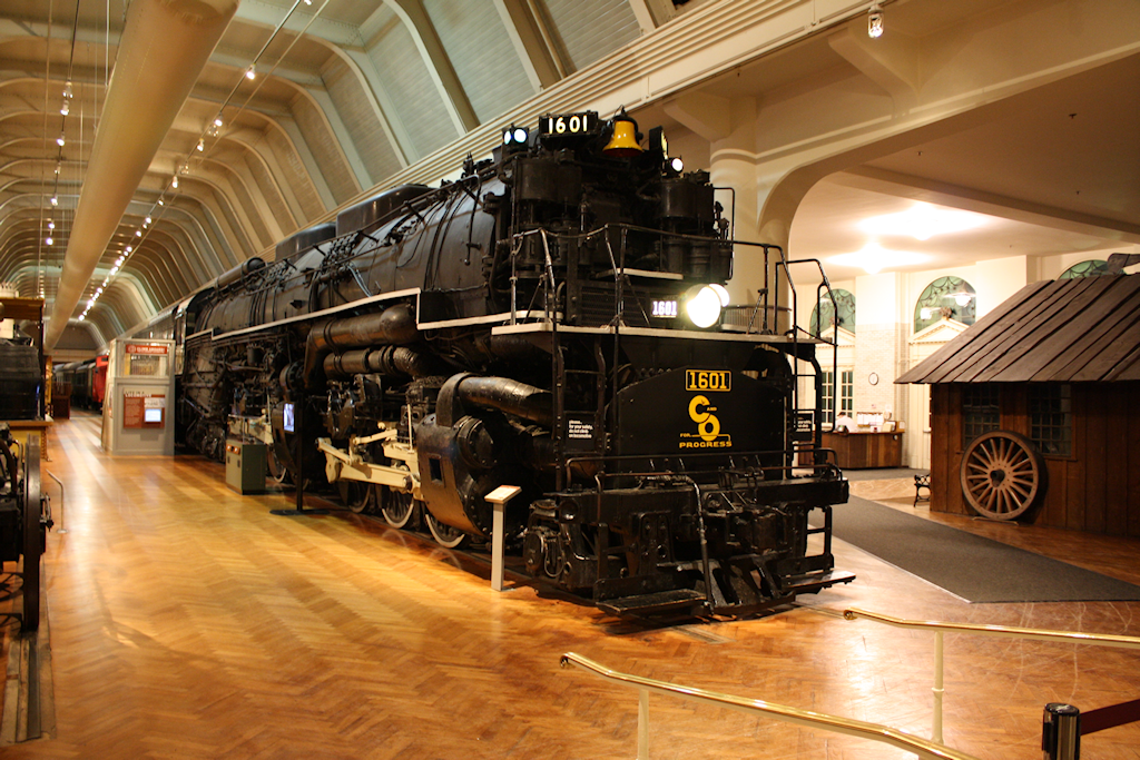 1941 Alleghany steam locomotive
