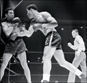 Joe Louis vs Max Schmeling in 1938