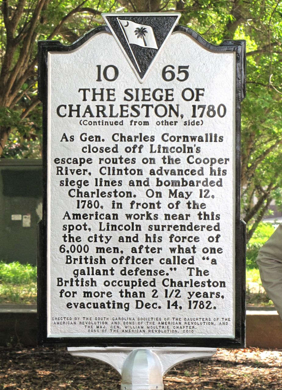 South face of the marker.