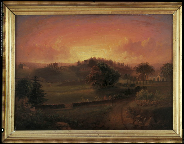 Brook Farm, by Josiah Wolcott, 1844 (http://www.masshist.org/)