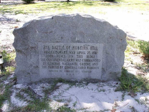 Hobkirk Hill Memorial.