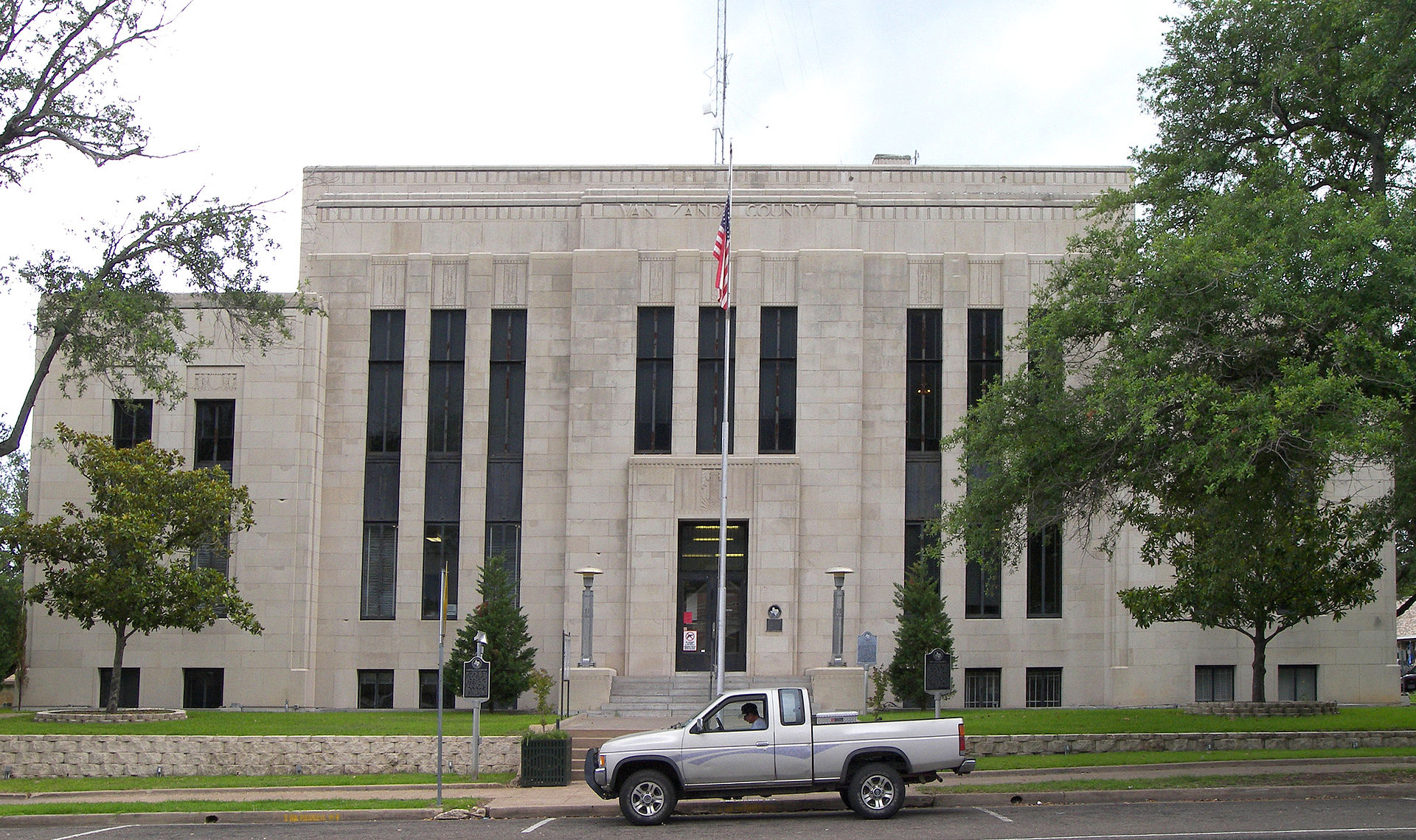 Van Zandt County Courthouse located in Canton, TX