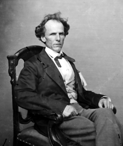 Brigadier General James Henry Lane, the general who led the attack on Osceola, Missouri.