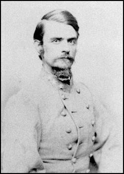 Confederate General John B. Clark, one of the commanders who orchestrated the Rebel victory. After the war he served in the House of Representatives and is buried in Washington D.C.