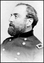 Union Colonel Chester Harding.  Harding led the Union soldiers in the Battle of Glasgow against the Confederates led by Brigadier General Sterling Price.