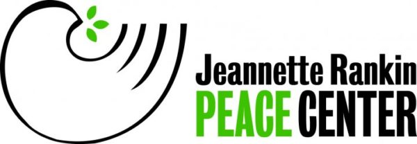 The logo for the Jeannette Rankin Peace Center