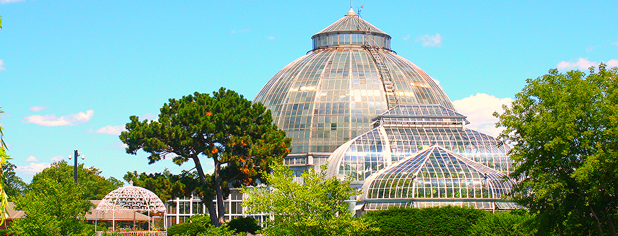The dome of the conservatory