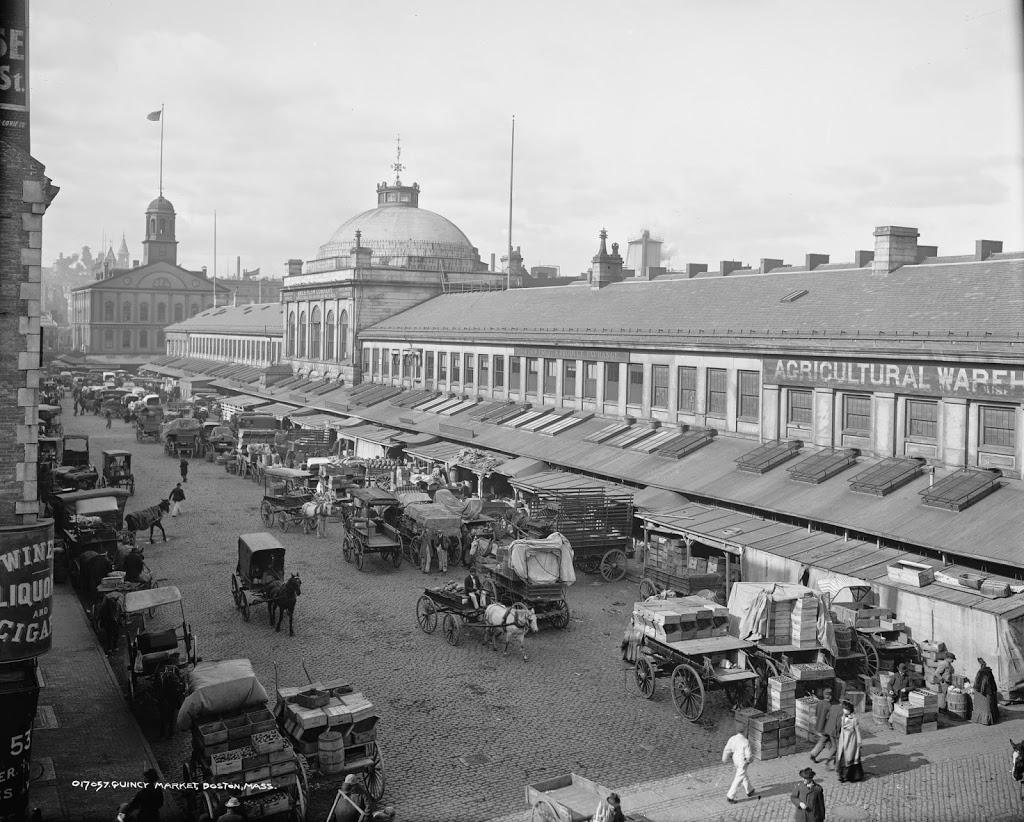 Quincy Market 1904 (http://lostnewengland.com/)