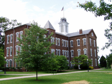 Anderson Hall at Maryville College in Maryville, Tennessee.