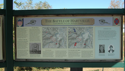 The Battle of Hartville was fought January 9–11, 1863, in Wright County, Missouri, as part of John S. Marmaduke's first expedition into Missouri, during the American Civil War.