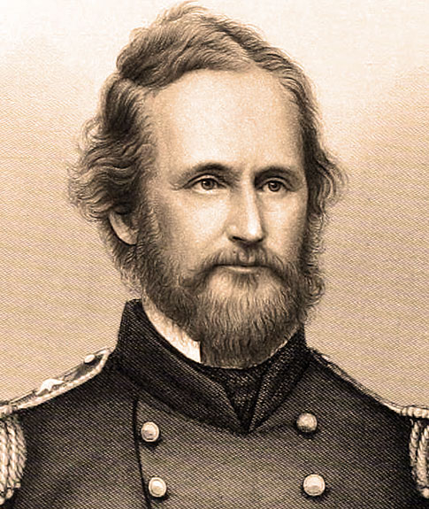 Union Brigadier General Nathaniel Lyon who led and won the Battle of Boonville.