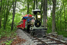 EcoTarium's Explorer Express Train (image from EcoTarium)