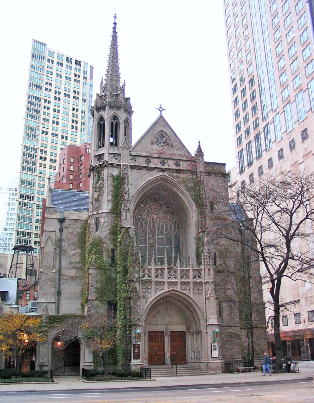 Exterior Fourth Presbyterian Church of Chicago