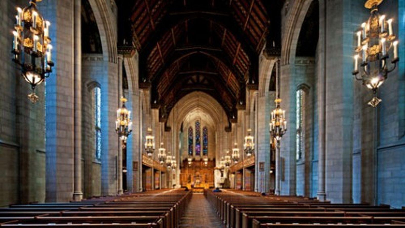 Interior Fourth Presbyterian Church of Chicago