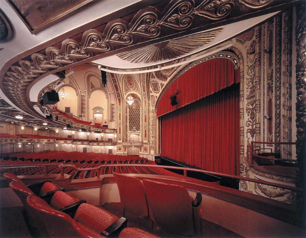 Cadillac Palace Theatre interior