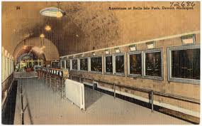 Postcard of the interior