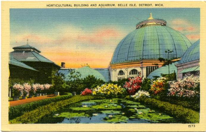 The Belle Isle Aquarium and Conservatory