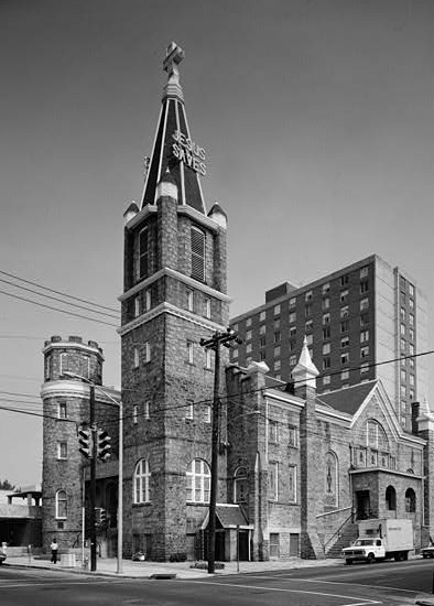 1979 photo pf Big Bethel A.M.E. Church from Historic American Buildings Survey (HABS)