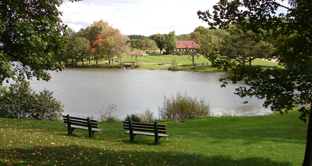 Green Hill Park (image from Destination Worcester)
