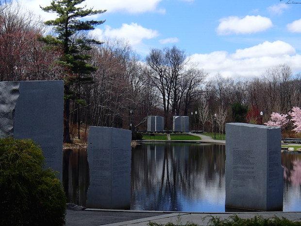 Massachusetts Vietnam Veterans Memorial (image from Massachusetts Live)