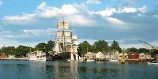 The Mystic Seaport Museum was established in 1929 and is considered the best maritime museum in America.