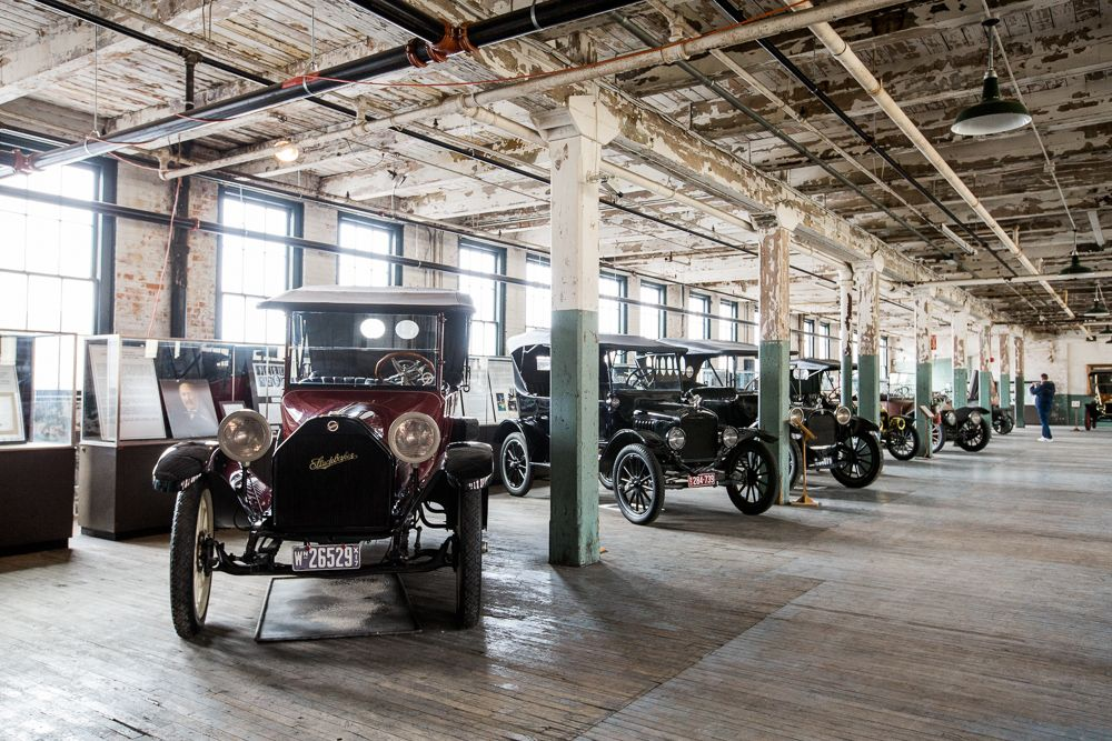 The Ford Piquette Avenue Plant Museum today