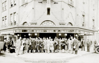 Marquee of the original Balboa Theatre, 1920s