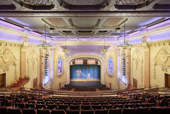 The stage of the Balboa Theatre, balcony view