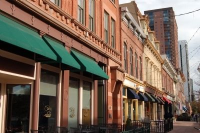 Larimer Square (image from Historic Marker Database)