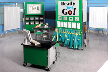 Ready Vet Go exhibit (image from Children's Museum of Denver)