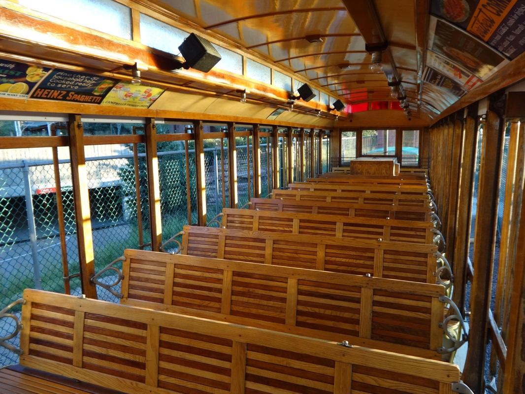 Trolley interior (image from DenverTrolley.org)