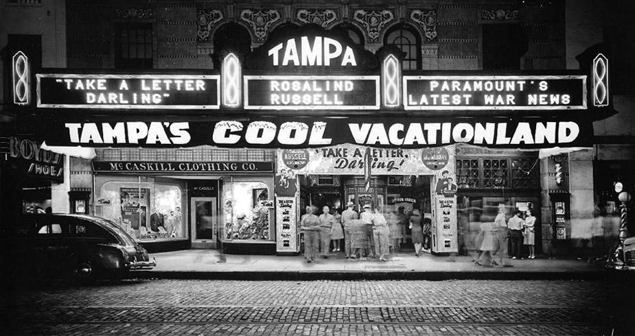 Tampa Theatre in 1942
