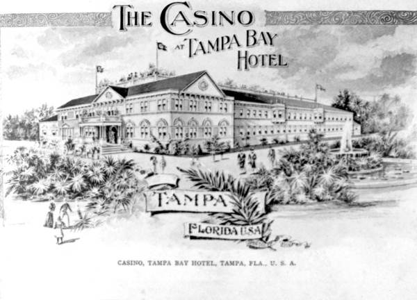 Ad for the Casino at the Tampa Bay Hotel