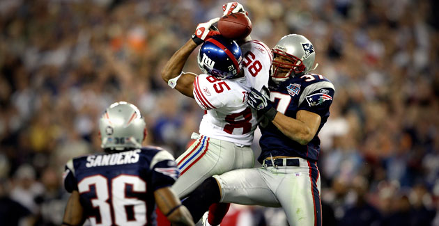 The Helmet Catch that loss the Patriots undefeated season
