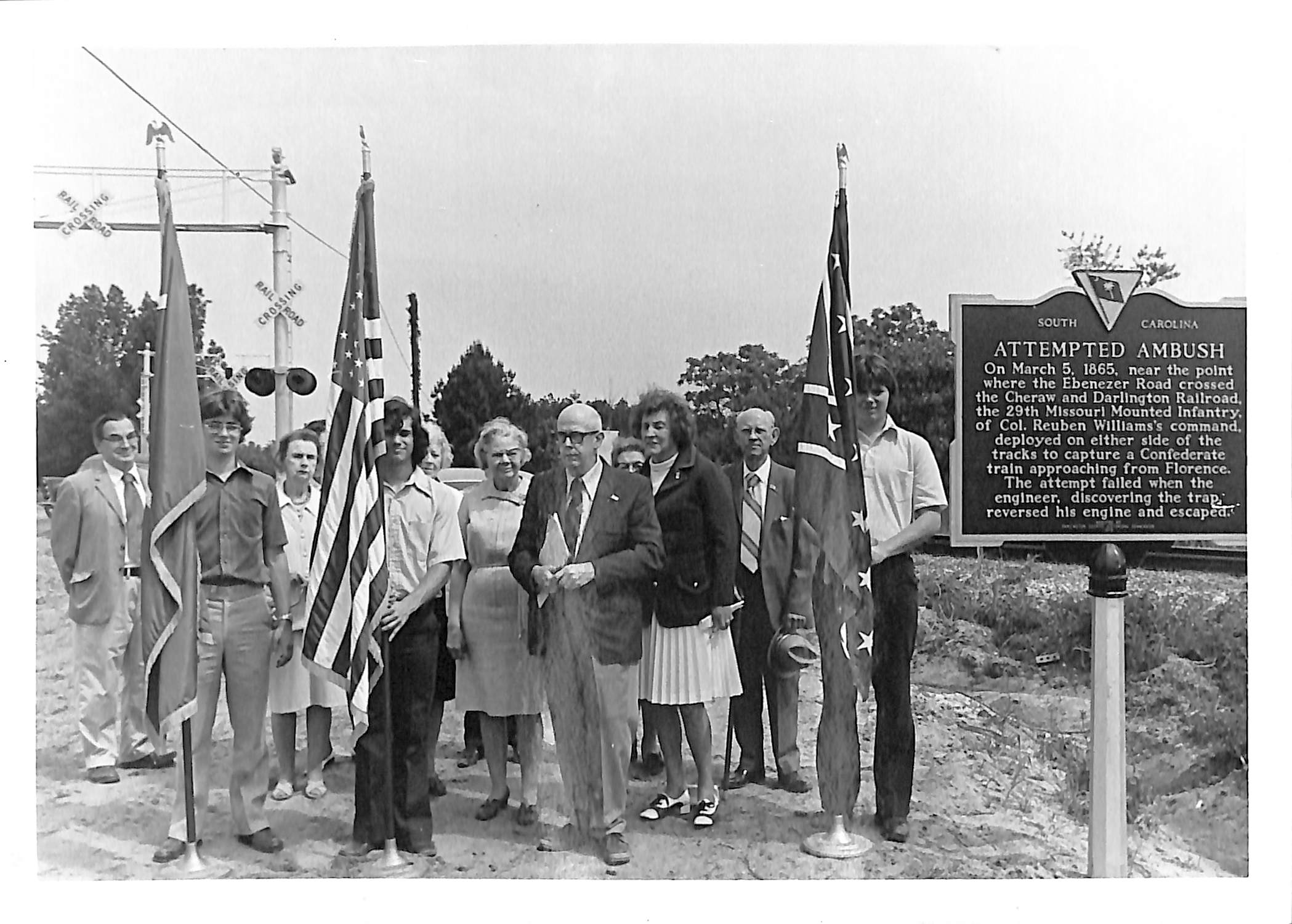 Marker Dedication,  May 10, 1975 