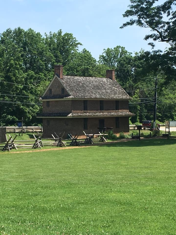 The Barns-Brinton House as it looks today